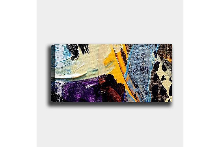 Canvasbilde YTY Abstract & Fractals Flerfarget - 120x50 cm - Innredning - Veggdekorasjon - Lerretsbilder