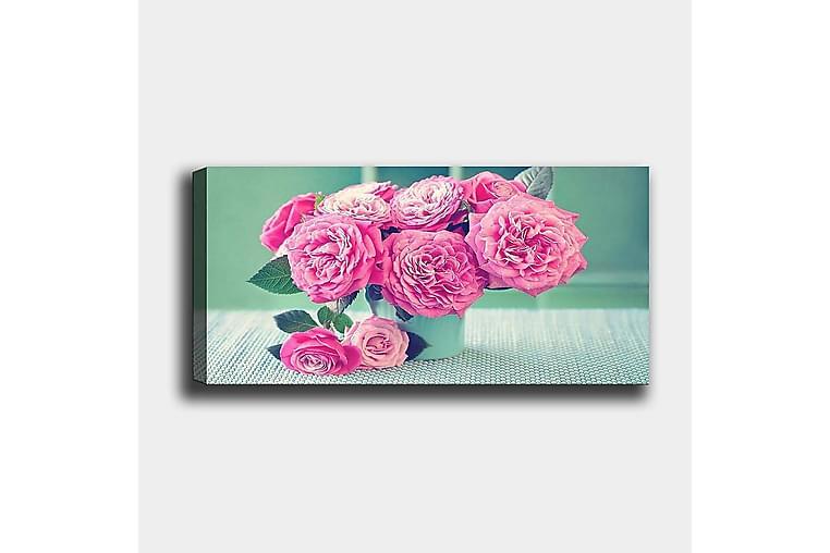 Canvasbilde YTY Floral & Botanical Flerfarget - 120x50 cm - Innredning - Veggdekorasjon - Lerretsbilder