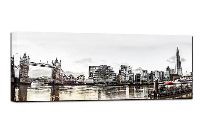 Canvastavla London - 60x150 - Innredning - Veggdekorasjon - Lerretsbilder