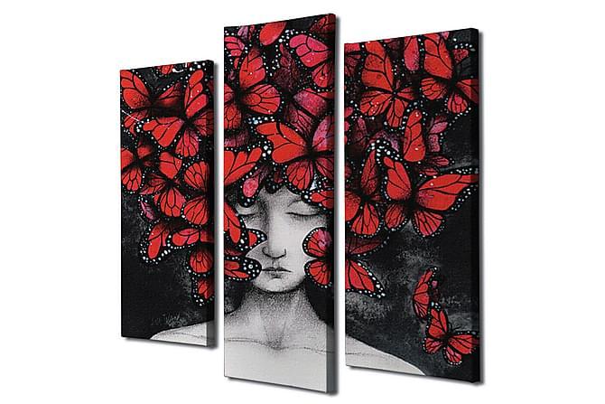 Decorative Canvas Painting (3 Pieces) - Innredning - Veggdekorasjon - Lerretsbilder