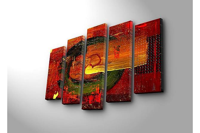 Decorative Canvas Painting (5 Pieces) - Innredning - Veggdekorasjon - Lerretsbilder