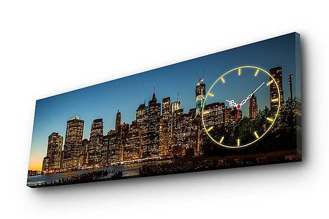 Decorative Canvas Wall Clock - Innredning - Veggdekorasjon - Lerretsbilder