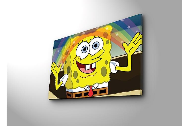 Dekorativ Canvasbilde - Flerfarget - Innredning - Veggdekorasjon - Lerretsbilder