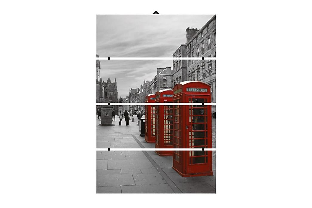 Dekorativ MDF-bilde 4 Deler - Flerfarget - Innredning - Veggdekorasjon - Lerretsbilder