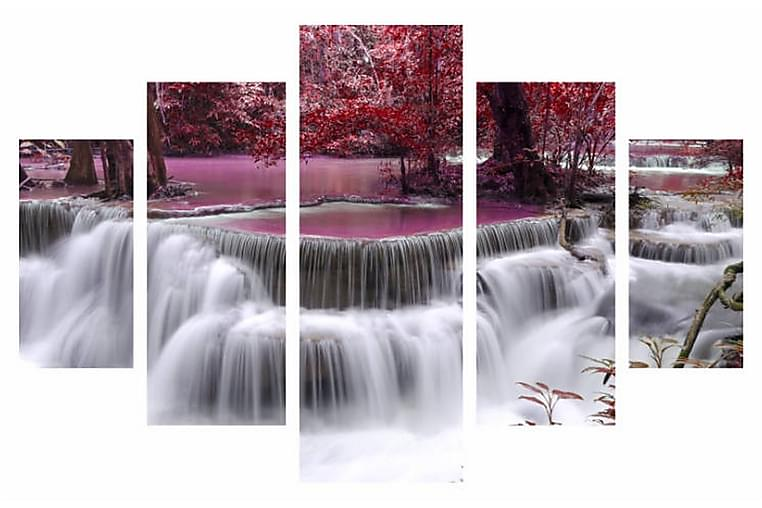 Dekorativ MDF-bilde 5 Deler - Flerfarget - Innredning - Veggdekorasjon - Lerretsbilder