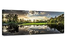 Green Sunset Tavle 60x150 cm