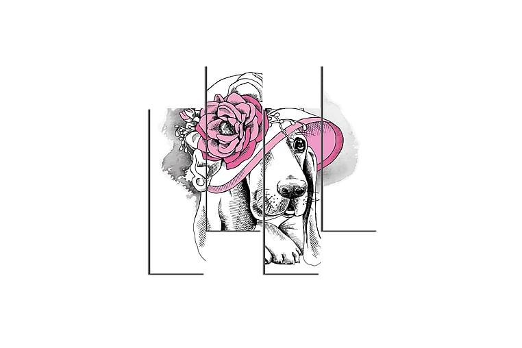 Homemania Hund Rammeverk - Homemania - Innredning - Veggdekorasjon - Lerretsbilder