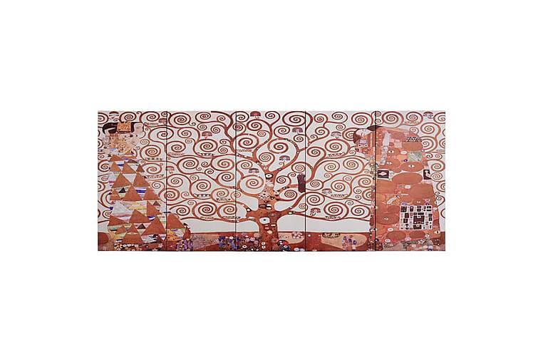 Lerretsbilde tre gul 150x60 cm - Innredning - Veggdekorasjon - Lerretsbilder