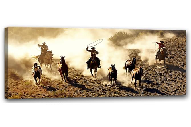 Tavle Canvas Rodeo - 60x150 - Innredning - Veggdekorasjon - Lerretsbilder