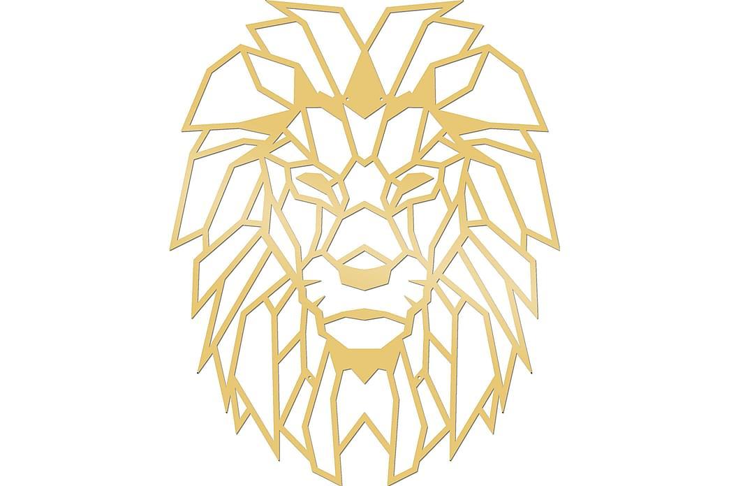 Lion Veggdekorasjon - Homemania - Innredning - Veggdekorasjon - Metallskilt