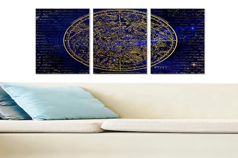 Bilde Astrology 3-pk Flerfarget - 22x05 cm - Innredning - Veggdekorasjon - Posters