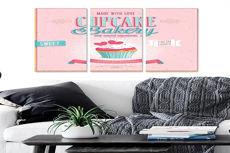 Bilde Kitchen 3-pk Flerfarget - 22x05 cm - Innredning - Veggdekorasjon - Posters