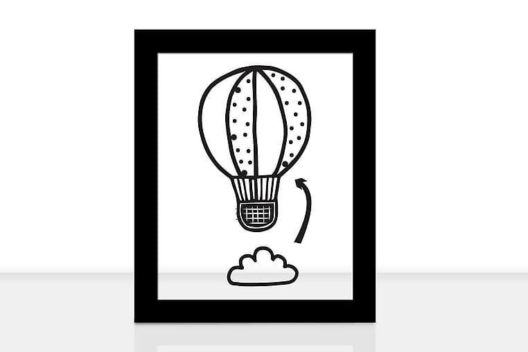 Dekorativ Bilde Innrammet - Flerfarget - Innredning - Veggdekorasjon - Posters