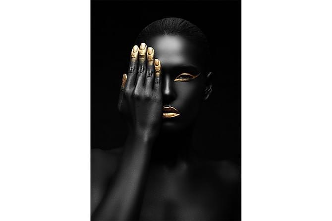 Gold finger Poster - 50x70 cm - Innredning - Veggdekorasjon - Posters