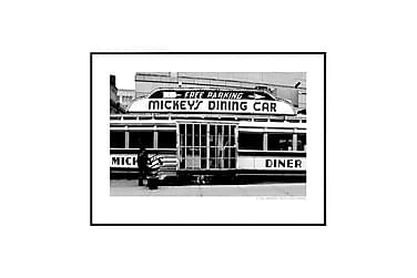 Mickey's Diner Poster