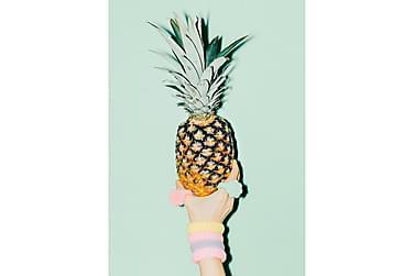 Pastel Pineapple 1 Poster