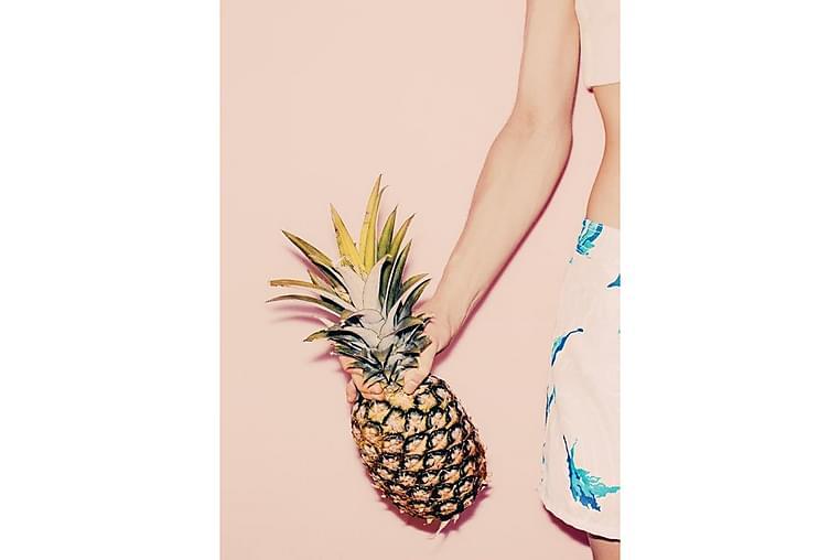 Pastel Pineapple 2 Poster - 50x70cm - Innredning - Veggdekorasjon - Posters