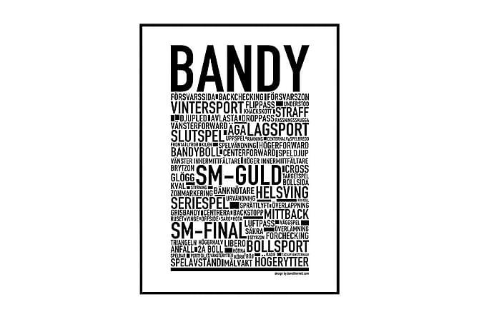 Poster Bandy - Finnes i flere størrelser - Innredning - Veggdekorasjon - Posters