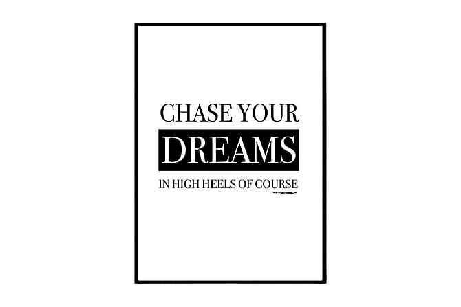 Poster Chase your dream - Finnes i flere størrelser - Innredning - Veggdekorasjon - Posters