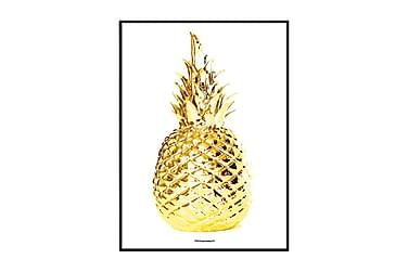 Poster Gold Pineapple