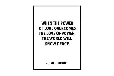 Poster Jimmi Hendrix