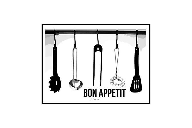Poster Kitchen tools - Finnes i flere størrelser - Innredning - Veggdekorasjon - Posters