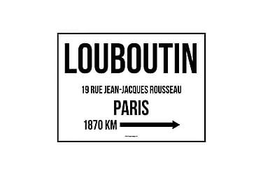 Poster Louboutin