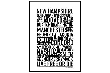 Poster New Hampshire