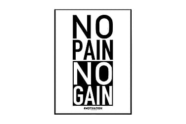 Poster No pain no gain