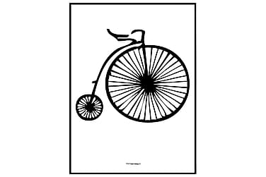 Poster Penny farthing