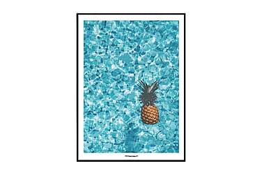 Poster Pineapple pool