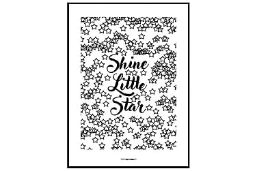 Poster Shine little star