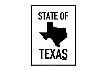 Poster State of Texas