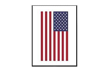 Poster USA American Flag