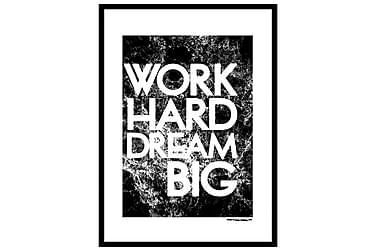 Poster Work hard