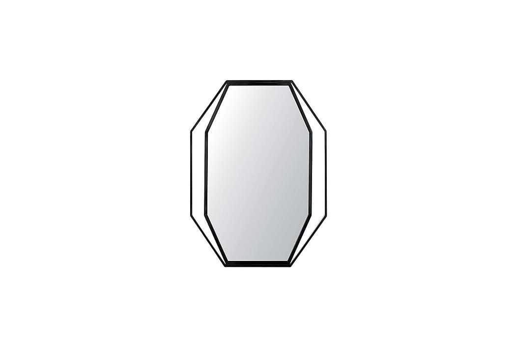 Bagron Speil 80x60 cm - Grå - Innredning - Veggdekorasjon - Speil