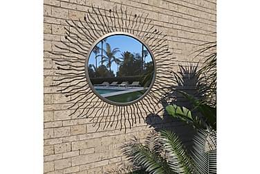 Hagespeil solstråle 80 cm svart