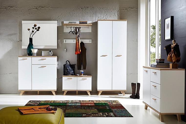 Loke Speil - Hvit - Innredning - Veggdekorasjon - Speil