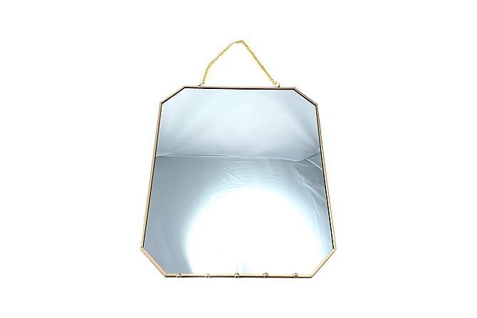 Matthaus Speil 25x30 cm 8-kantet - Innredning - Veggdekorasjon - Speil