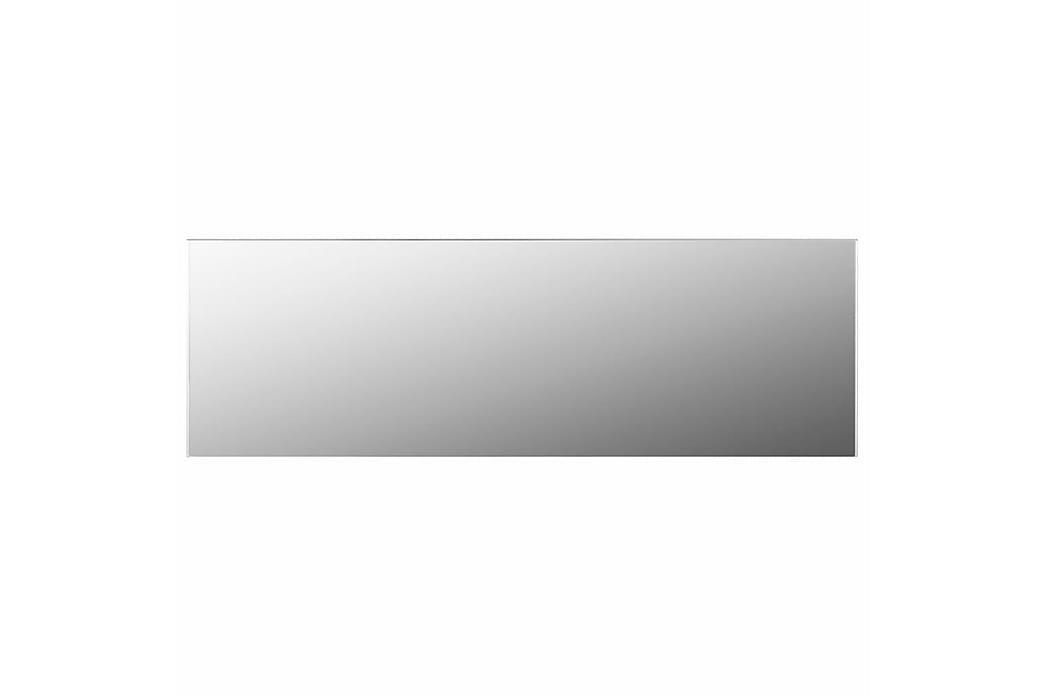 Rammeløst speil 120x30 cm glass - Silver - Innredning - Veggdekorasjon - Speil