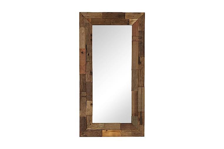 Speil gjenvunnet heltre 50x110 cm - Innredning - Veggdekorasjon - Speil