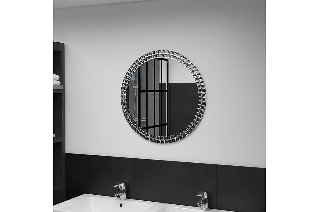 Veggspeil 60 cm herdet glass - Innredning - Veggdekorasjon - Speil