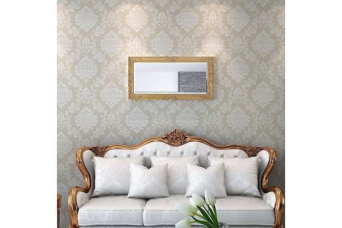 Veggspeil Barokstil 100x50 cm Gull - Innredning - Veggdekorasjon - Speil