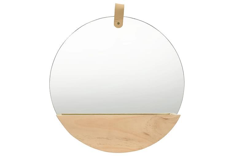 Veggspeil heltre furu 35 cm - Innredning - Veggdekorasjon - Speil