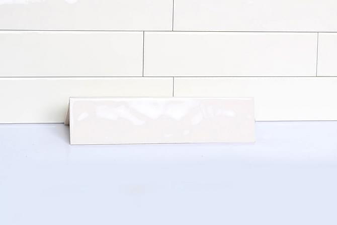Veggflis Håndslått Beige 7,5x30 - Veggfliser & gulvfliser - Veggfliser - Ensfargede veggfliser