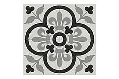 Marokkansk Veggflis Yamil Grey 20x20