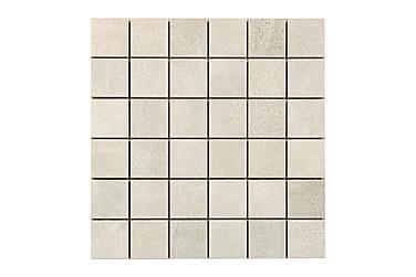 Concrete Sølv Grey Mosaikk 30X30