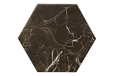 Gulvflis Hexagon Carrara Black 20x23
