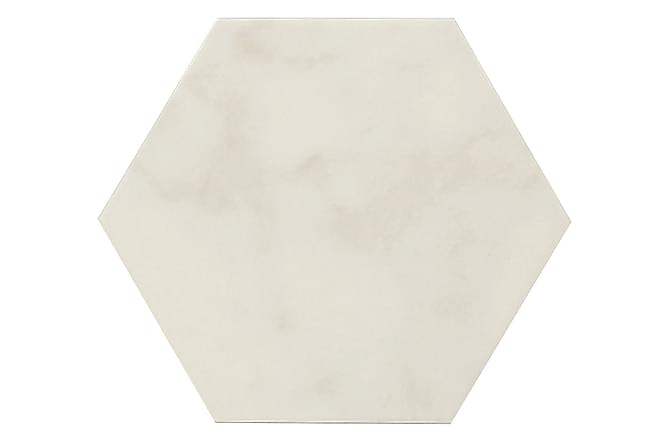 Gulvflis Hexagon Carrara White 20x23 - Veggfliser & gulvfliser - Gulvfliser - Heksagon gulvfliser