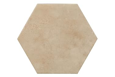 Gulvflis Hexagon Latté 20x23